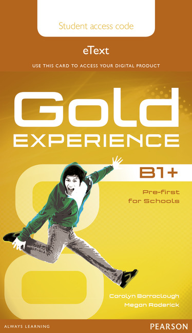 Gold Experience Student's eText B1+
